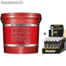 Pack Scitec Nutrition 100% Whey protein Professional 5 kg + Toalla Exclusiva