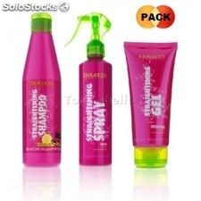 Pack straightening salerm (champú alisado 250+ spray alisado 250+