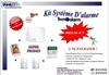 pack systeme d'alarme