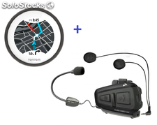 Pack TomTom VIO + Intercom moto Scala Rider Qz