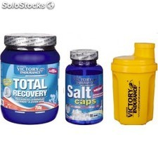 Pack Victory Endurance Total Recovery + Salts caps+ Bidón 500 ml
