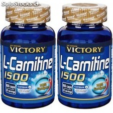 Pack Victory L-Carnitina 1500 (100% Carnipure) 2 botes x 100 caps