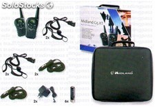 Pack Walkie Midland G5XT Valibox