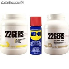 Pack WD-40 Aceite Multiuso 25 ml + 226ERS Recovery + Isotonic