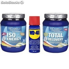 Pack WD-40 Aceite Multiuso 25 ml + Victory Endurance Total Recovery 750 gr + Iso
