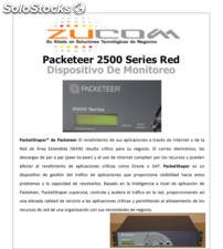 Packeteer 2500 Series Red Dispositivo De Monitoreo