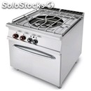 Paellero a gas - mod. paf/98g - n. 1 fuoco - forno a gas statico gn 2/1 -
