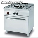 Paellero-mod. paf/78g-# 1 fire-gas oven gn 2/1 static-dimensions: l 80 x d 90 x