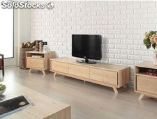 Paineis 3D decorativos - serie: BRICKS - 1,08 m/2 - com adhesivo - 60*60 cms.
