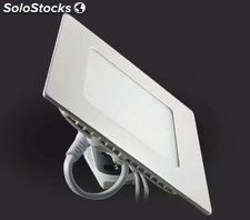 painel downlight levou recessed square 15w 1500lm
