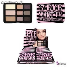 Paleta de sombras Eye Want It W7