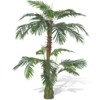 Palmera Cycas artificial con aspecto natural, 150 cm