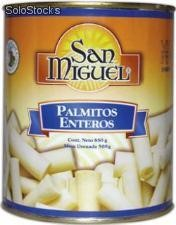 Palmitos enteros 12/850 gr