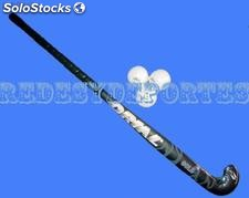 Palo hockey s/ cesped profesional drial gold fibra carbono