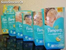 PAMPERS Active Baby Gigant Pack - 6 rozmiarów pampersy pieluchy