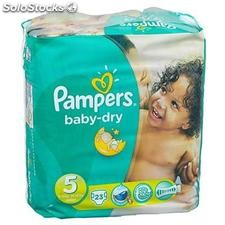 Pampers baby dry paquet T5 X23