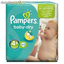 Pampers baby dry pq T4+ X24
