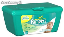 Pampers Naturally Clean 4*64pcs