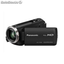 Panasonic - HC-V180EC-K Videocámara manual 2.51MP MOS BSI Full HD Negro soporte