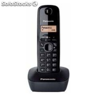 ✅ panasonic kx-TG1611, dect, pared, negro, lcd, AAA, 49 x 30 x 159 mm