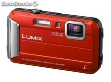 Panasonic Lumix DMC-FT25 Roja, Cámara robusta sumergible Full HD