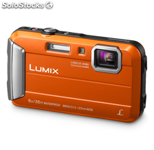 Panasonic Lumix DMC-FT30 Naranja, Cámara robusta sumergible FullHD