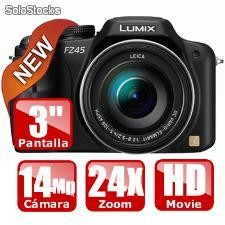 Panasonic lumix dmc-fz45 / f100 (sd 2 gb de regalo)