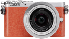Panasonic Lumix DMC-GM1 Kit naranja/plata + 3,5-5,6/12-32