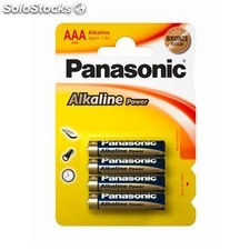 Panasonic - Pila Alcaline Power Panasonic LR03 AAA 1,5V