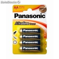 Panasonic - Pilas Alkaline Power Panasonic LR6 1,5V AA