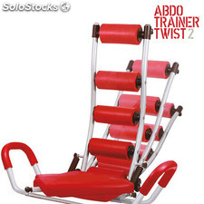 Panca ABDO Trainer Twist Sit Up con Estensori addominali