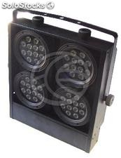 Panel 4 160W DMX512 led bulbs (XG51)