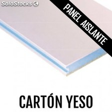 Panel aislante carton yeso