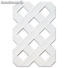 Panel decoracion c/marco 1*2 blanco