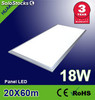 Panel Led En suspensión 200x600x12.5mm 18w 1200lm