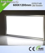 Panel led luz fria 78w Pantallas led,600x1200x12.5mm 5500lm