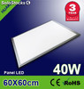 Panel led luz fria40w Pantallas led,625x625x12.5mm para Alemania estándar
