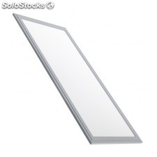 Panel led slim 60x30cm 32w marco plata