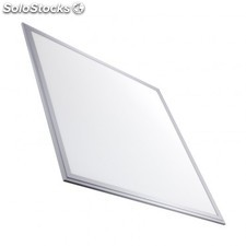 Panel led slim 60x60cm 40w 3800lm marco plata