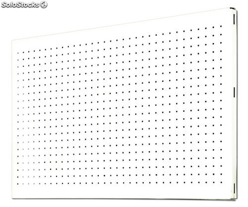 Panel perforado 900x600 blanco 900x600mm simonrack - Panel perforado blanco ...