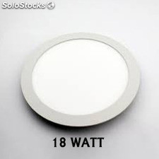Panel rond led de 18 watt