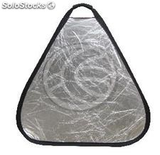 Panel triangular reflector 80cm silver and gold (EO32)