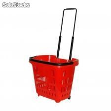 Panier 34 litres Rouge RAL3020