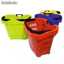 Panier 43 litres Rouge RAL3020