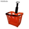 Panier 45 litres Rouge RAL3020