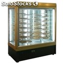 Panoramic refrigerated patisserie and ice cream display - mod. tek/10 - anodized