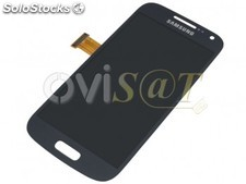 Pantalla completa para Samsung Galaxy S4 Mini, I9190, I9195 , color black mist