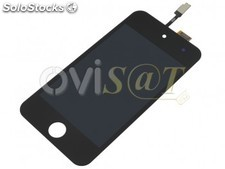 Pantalla, Display + Digitalizador para Ipod Touch 4 4ªgeneracion negra.