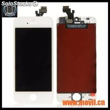 Pantalla Display Iphone 5 5c 5s Touch Blanco Y Negro