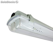 Pantalla Estanca para dos Tubos de LED T8 1500mm